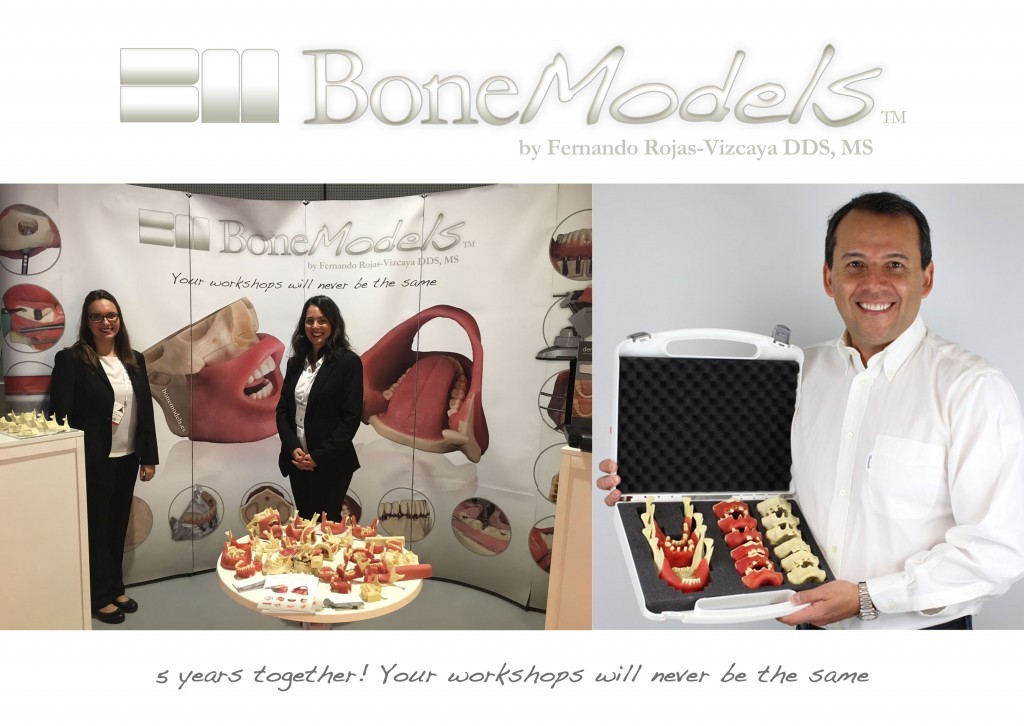 5years bm - BoneModels meets 5 years with presence in more than 50 countries