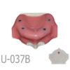 BondeModels U037B 01 4 100x100 - U-086: Modelo maxilar desdentado. Recrea un paciente real con encía, crestas cicatrizadas y senos.
