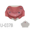 BondeModels U037B 01 5 100x100 - U-023ABCS Partially edentulous maxilla with cortical and cancellous bone and extra bone to apply the 3A-2B rule.