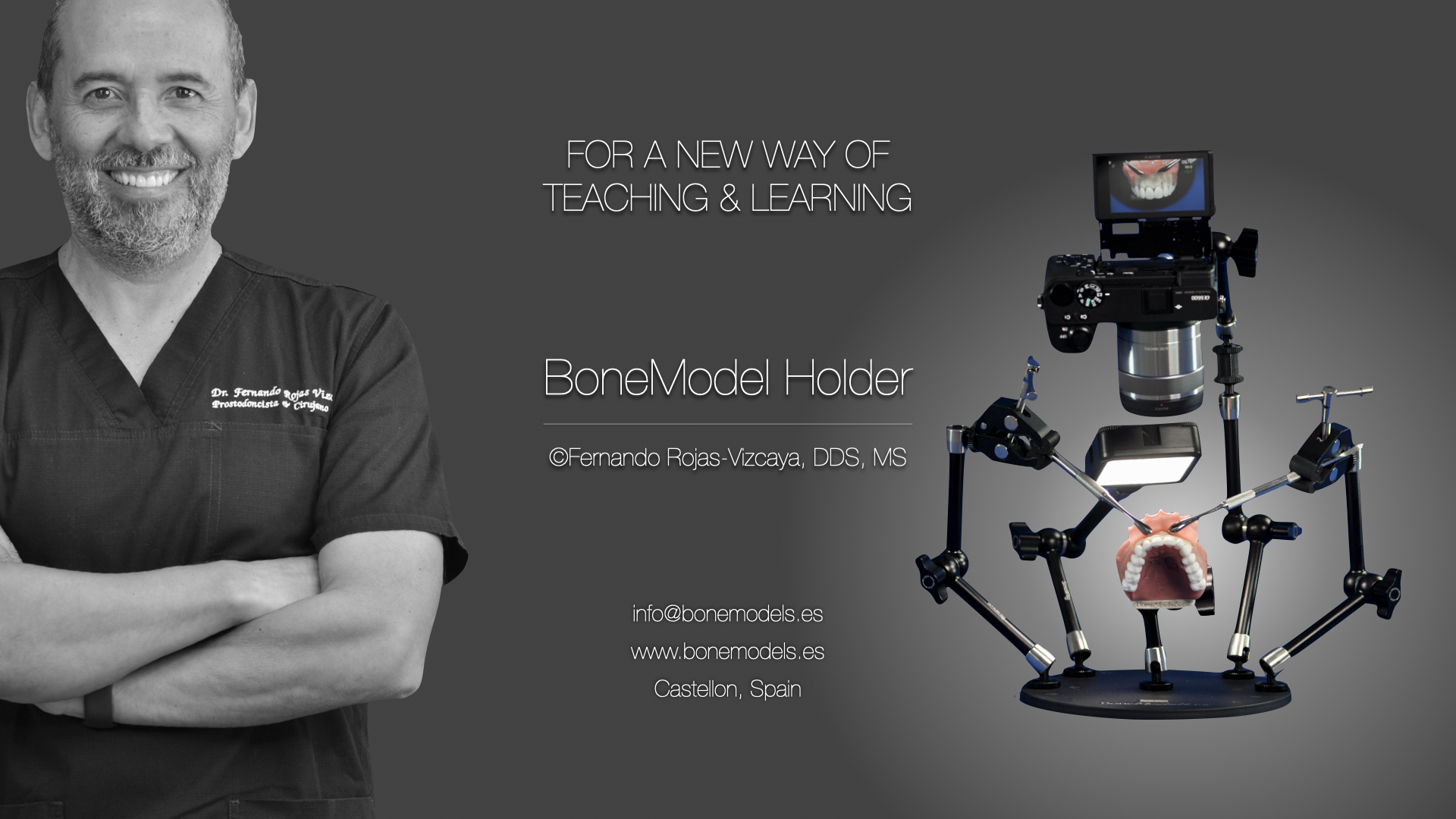 model holder1 1 - NEW BONEMODELHOLDER - FOR A NEW WAY OF TEACHING AND LEARNING! 🎯