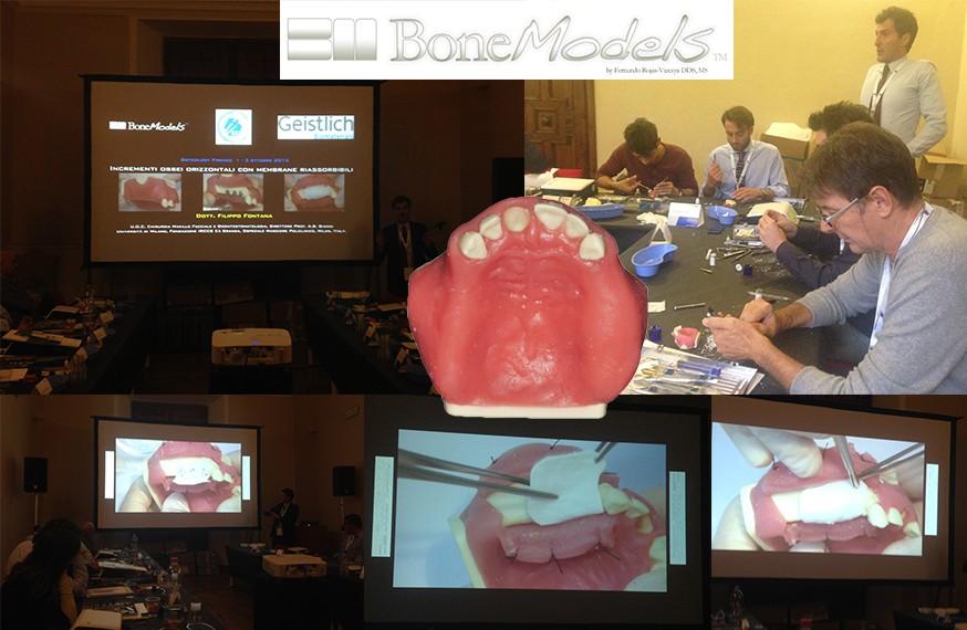 montaje bonemodels italia - BoneModels has recently been present in Florence (Italy)