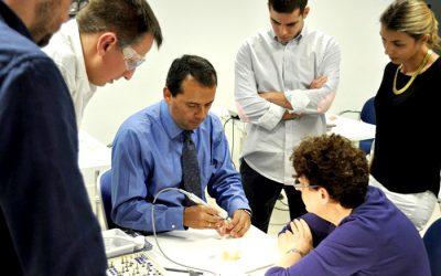 prosthetic workshop 400x250 - Doctor Fernando Rojas-Vizcaya in his Prosthetic Hands-on Workshop with BoneModels