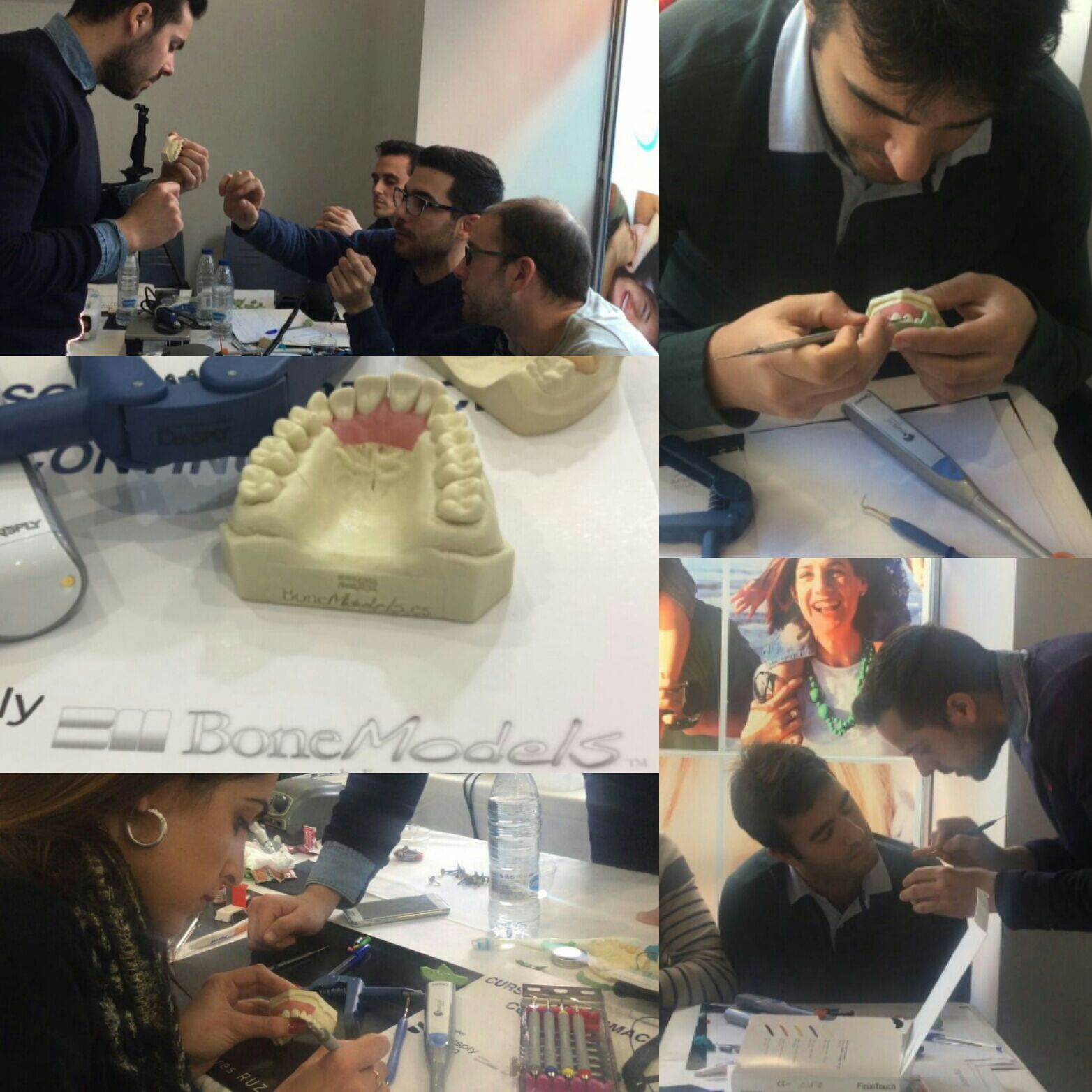 "wax modelling - Courses such as ""Wax modelling, adhesion and advanced composite stratification"" with BoneModels"