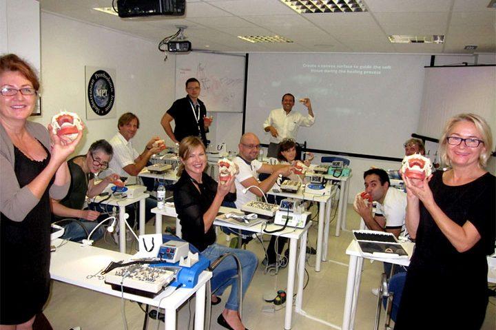 workshops Implant prosthodontics 720x479 - BoneModels used to  Hands-on Workshops at the Implant Prosthodontics Program